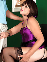 50 Plus MILFs - Sindy loves getting ass-fucked! - Sindy Silver (34 Photos)