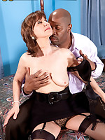 50 Plus MILFs - Elle's Back For Some Big, Black Cock! - Elle Denay (52 Photos)