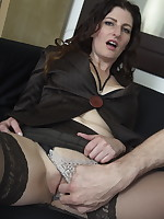 Naughty Mom playing in POV style