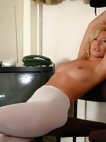 Hot mom Tracey Coleman loves showing those panties - Milf Nylon
