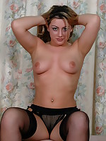 Naughty Patsy is one hot mom who is feeling a bit frisky - Milf Nylon